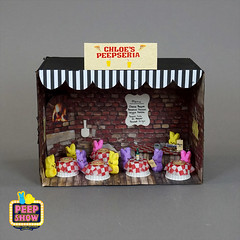100-Chloe's Peepseria (Carroll Arts Center) Tags: carroll county arts council 2018 peepshow a display marshmallow masterpieces featuring more than 150 sculptures dioramas graphic oversized characters mosaics created inspired by peepsâ®
