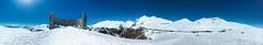 Gudauri Panorama (SleepSerum114) Tags: panorama pano gud gudauri mountainscape mountains caucasusmountains skiresort snow sky icecap landscape landscapephotography photography