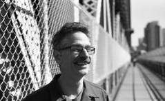 Emile on the Manhattan Bridge (neilsonabeel) Tags: nikonfm2 nikon film analogue blackandwhite newyorkcity 50mm seriese
