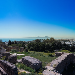 The view from Carthage