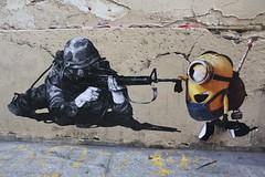 MurMure_6050 rue Greneta Paris 02 (meuh1246) Tags: streetart paris murmure ruegreneta paris02 soldat arme casque