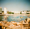 A pleasant day in Stanley (aprilpo) Tags: travel dianamini crossprocessing xpro lomography japan kyushu asia boats lomographyxpro200 hongkong stanley slide analog etoc e2c