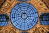 round # 1 (Bernergieu) Tags: milano italy blue italien blau mailand architektur architecture lookingup windows fenster