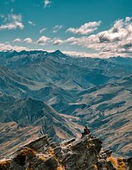 Endless mountains (Fede Duran) Tags: landscape landscaper travelphotography newzealand mountains views clouds sky ontop wanderlust aroundtheworld hikes adventure