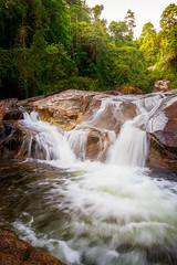 Waterfall (misterJ.oel) Tags: water waterfall thailand jungle flow