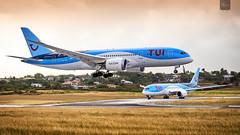 TUI   G-TUIB   Boeing 787-8   BGI (Terris Scott Photography) Tags: aircraft airplane aviation plane spotting nikon d750 f28 travel barbados jet jetliner tui fly 7878 tamron 70200mm