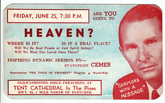 Are You Going to Heaven? (Brett Streutker) Tags: stars 2017 easter christ creator jesus science creation creationism made he bible scriptures rapture god yahweh jehovah born again saved evangelical gospel meeting tent psalm verse study revelation tribulation son antichrist satan devil enemy john gospels epistles conference seminary moody king james new american standard international version thus herod christmas passover brirth bethlehem jerusalem samaria apostles diciples mary joseph palastine israel israeli old time religion school antique nostalgia fundamentalist apostolic assemblies episcopal methodist lutheran cartoon