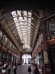 Leadenhall was London's great poultry market - a more likely site for Breckinridge's stall than Covent Garden  (Paul Gillings)
