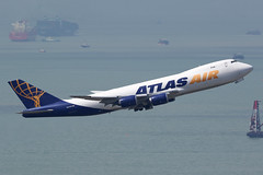 N854GT Atlas Air 747-8F Hong kong (ColinParker777) Tags: n854gt boeing 747 748 7478 7478f 74n 74h atlas air airlines airline airways gti 5y cargo freigh freighter airliner plane airplane aeroplane flying departure takeoff flight aviation ship sea river delta pearl ships shipping container barge hkg vhhh chek lap kok airport 7d 7d2 7dmk2 7dmkii 7dii 200400 l lens pro zoom telephoto