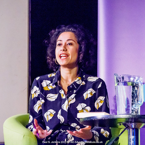 P3071208 Samira Ahmed - Humanists UK 2018 Franklin Lecture at the Camden Centre, London