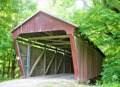 Covered Bridge (Howard TJ) Tags: covered bridge fairfield county historic