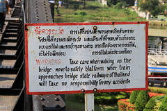 I_B_IMG_8873 (florian_grupp) Tags: southeast asia thailand siam thai train railway railroad srt staterailwayofthailand metregauge metergauge kanchanaburi deathrailway riverkwai japan ww2 bridge riverkwaibridge famous