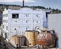 Blue Heron Paper Mill 6019 A (jim.choate59) Tags: oregoncity blueheronpapermill urban jchoate on1pics decay historic industry willametteriver willamettefalls oregon old factory d610 urbex abandoned hww