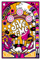 Jive Time Anniversary poster, 2017