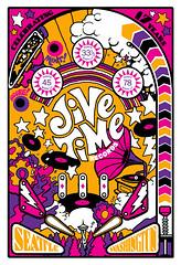 Jive Time Anniversary poster, 2017