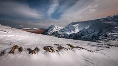 Reminiscing... (Einir Wyn Leigh) Tags: landscape snow mountain path walking outside light wales uk nikon pleasure
