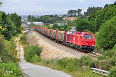 Laxosa (REGFA251013) Tags: takargo tren train comboio comsa 6006 madera lugo galicia