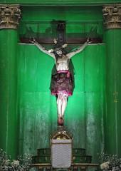Crucifixion Santa Cruz Mixtepec Oaxaca (Ilhuicamina) Tags: christ cross santacruzmixtepec oaxaca mexico churches iglesias