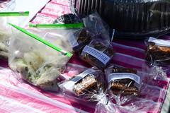 Bake Sale Food (Vegan) (Vegan Butterfly) Tags: vegan bake sale event outside outdoor edmonton alberta city urban fundraiser