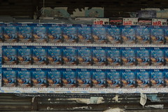 Posters on street (Ien Yamasaki) Tags: nikkor 4386 4386mm mm vintage zoom lens review sample bangkok thai thailand