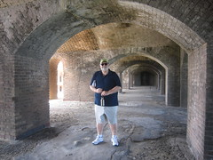 C Tuesday Dry Tortugas Cruise Fort Casemate and me (JuralMS) Tags: umitedstates florida monroecounty keywest keywestmarch2018 2018o drytortugaa drytortugascruise cruise nationalpark fortjefferson forts