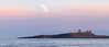 Dunstanburgh Moon Rising (ttarpd) Tags: dunstanburgh castle northumberland beach embleton bay north east england uk coast sea water rock shore tide seascape landscape sunset sundown dusk twilight eventide moon night sky astrophotography lunar crater gb britain greatbritain
