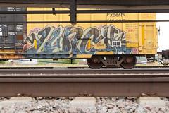 Lunch (Psychedelic Wardad) Tags: freight graffiti sfr eka ync lunch