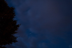 Flare of Iridium 14 / 2018-06-25 (astrofreak81) Tags: iridiumflare night sky flare