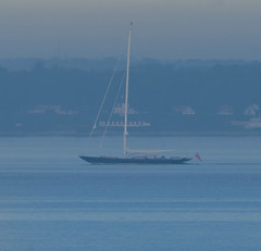 Luxury yacht Anne early in the morning (frankmh) Tags: yacht sailyacht anne earlymorning öresund