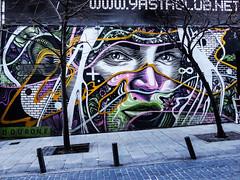 ... Visiones de MADrid ... (Lanpernas .) Tags: streetart street arte arteenlacalle artecontemporaneo artecallejero madrid malasaña calle grafitti urbanart 2018 yastaclub