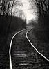 tracks 04-2018 BW (Krzysztof Krr) Tags: sony a6000 nex sel50f18 tracks bw