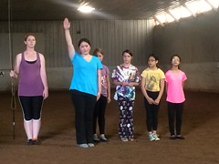 Equine Vaulting (Pictures by Ann) Tags: equinevaulting equine horse vaulting exercise phyed gymnastics dance fitness fun sophia physicaleducation olivia