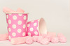 pink (inma F) Tags: colores golosinas rosa stilllife vaso pink sweet caramelos fiesta party celebration birthday celebración papel color colour candy marshmallow nube gominola goodies chuche chucheria