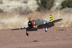 R/C P-47 Thunderbolt (twm1340) Tags: cam central arizona az modelers sedona republic p47 thunderbolt razorback rc model scale flying