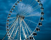 wonder wheel! (m_laRs_k) Tags: bluehour blue blues holland scheveningen olympus 7dwf outside outdoors cityscape landscape sky night moody prime f18 17mm 34mm ferris wheel wonder