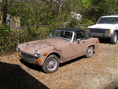 My wife's MG Midget (jb42996) Tags: mg midget 1978 classic custom vintage