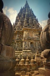 INDONESIEN, Java, hinduistische Tempelanlage Prambanan, 17343/9888