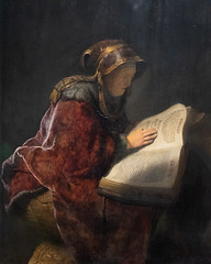 An Old Woman Reading, Probably the Prophetess Hannah | Rembrandt van Rijn | 1631 | The Rijksmuseum-73 (Paul Dykes) Tags: rijksmuseum museumofthenetherlands art gallery museum amsterdam netherlands nl holland anoldwomanreadingprobablytheprophetesshannah rembrandtvanrijn 1631