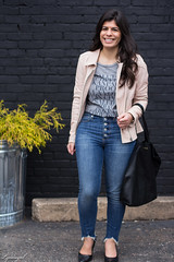 blush leather moto jacket, button fly jeans, cheers tee-4.jpg (LyddieGal) Tags: athleta matine mejuri naturalizer black blush danielwellington denim fashion gap grey jcrew outfit scalloped spring style wardrobe watch weekendstyle