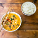 Vietnamese curry soup with rice