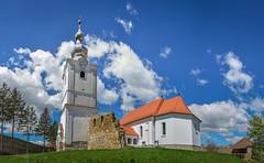 The Church (George Nutulescu) Tags: reformatus reformat nikon travel landscape building buildings sky transilvania covasna coordonate romania grass tower architecture