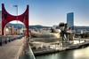 Bilbao - Vacanze 2017 (auredeso) Tags: bilbao spagna espana guggenheim nikond7100 tokina1116 hdr tonemapping nikon d7100 tokina ponte bridge