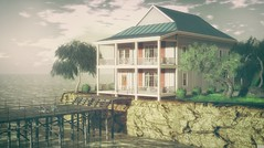 The Ache for Home (Kess Crystal @ The Glamour Sauce) Tags: sl secondlife vr virtualreality vrhomes virtualhomes virtualliving gallandhomes ultra exteriors gardens outdoor decorate decoration homeandgarden homeanddecor hpmd applefall fanatik