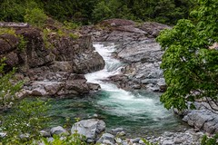 Kennedy River Rapids (MIKOFOX ⌘ Thanks 4 Your Faves!) Tags: canada river xt2 water rocks learnfromexif july landscape provia fujifilmxt2 mikofox showyourexif xf18135mmf3556rlmoiswr
