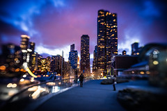 Surprising waves of attraction and reaction (Jim Nix / Nomadic Pursuits) Tags: chicago illinois jimnix lensbaby lightroom luminar2018 macphun midwest navypier nomadicpursuits skylum sony sonya7ii trio28 windycity bluehour cityscape holiday streetscene travel vacation