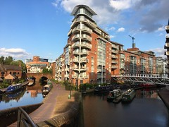 Birmingham Canal (cattan2011) Tags: 伯明翰 birminghamcity birminghamcanal traveltuesday travelphotography travelbloggers travel canal waterscape architecturephotography architecture bridge naturelovers natureperfection naturephotography nature landscapephotography landscape