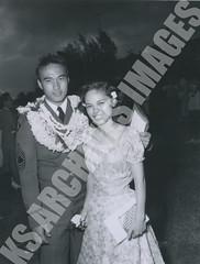 1214- 5354 (Kamehameha Schools Archives) Tags: kamehameha archives kapalama oahu ksg ksb ks luryier pop diamond 1954 1953 commencement jimmy pai genevieve centeio