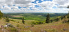 Palouse from Kamiak Butte (Carolina Kid (misplaced)) Tags: panorama palouse wheat canola alfalfa farming rollinghills geology precambrian cenozoic
