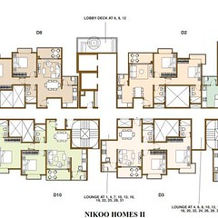 bhartiya-city-tower-plan-nikoo-homes-2-400x400 (realestate agents) Tags: nikoo homes bangalore bhartoyacity bhartiya city thanisandra road hebbal floor plans flats nikoohome