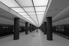 Berlin Underground (MR-Fotografie) Tags: underground berlin city ubahn bahn brandenburger tor stadt bahnhof nikon d7100 black white schwarz weiss bw sw monochrom perfect x